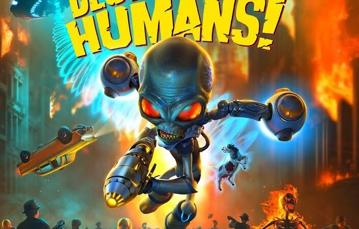 Destroy All Humans! 2020 cracked