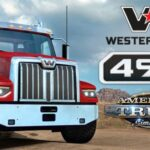 American Truck Simulator – Western Star 49X Cracked PC [RePack]