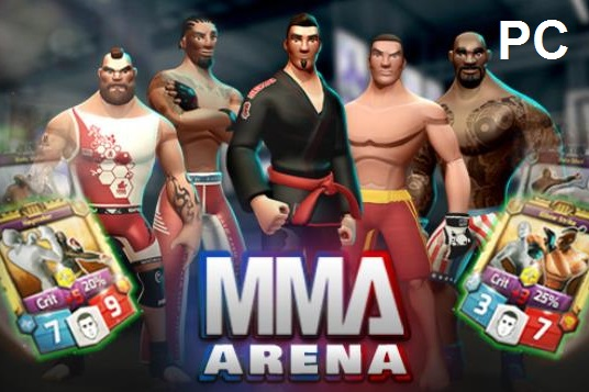MMA Arena game cracked