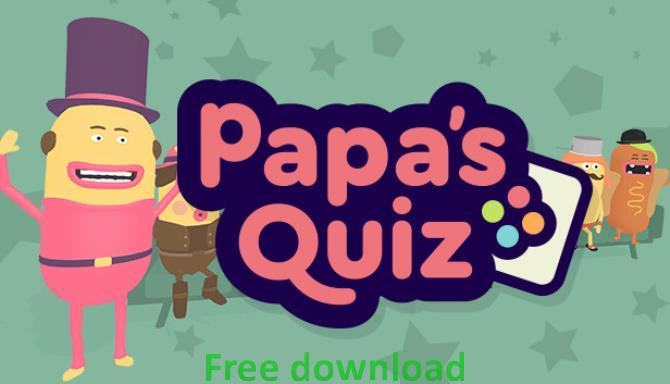 Papa's Quiz cracked