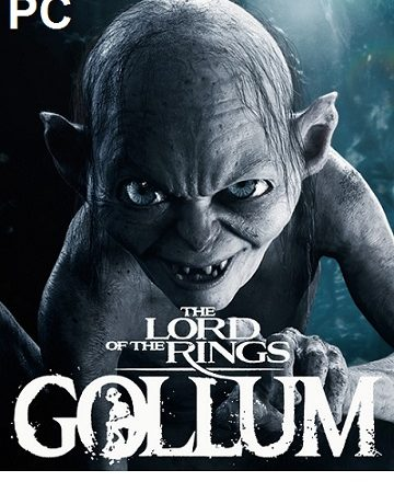 The Lord of the Rings Gollum cracked