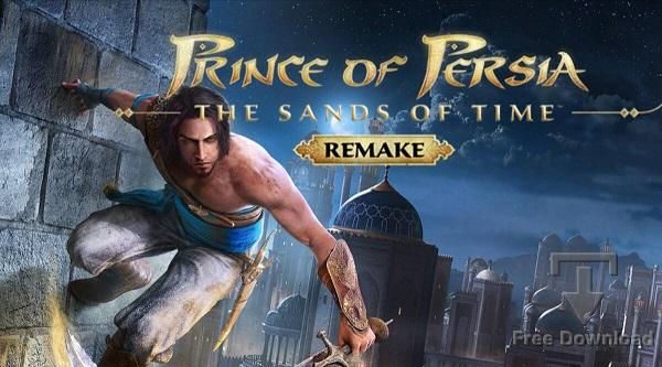 Prince of Persia The Sands of Time Remake cracked